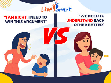 """""""I am right, I need to win this argument"""" VS """"We need to understand each other better"""""""