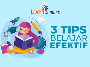 3 Tips Belajar Efektif