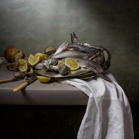 Merlus et citrons