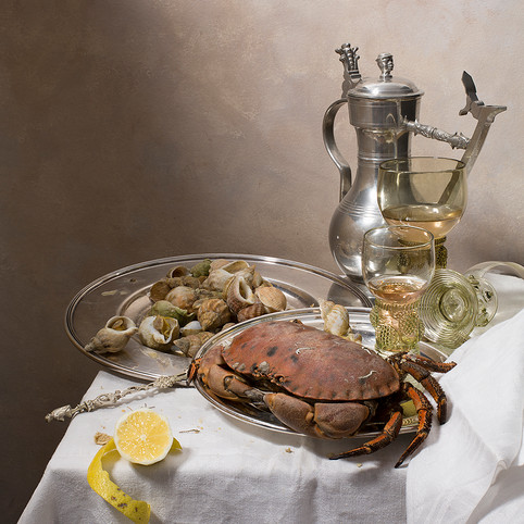 La table au crabe variation 2