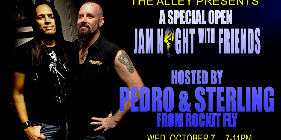 Pedro & Sterling from Rockit Fly Host Jam Night with Friends