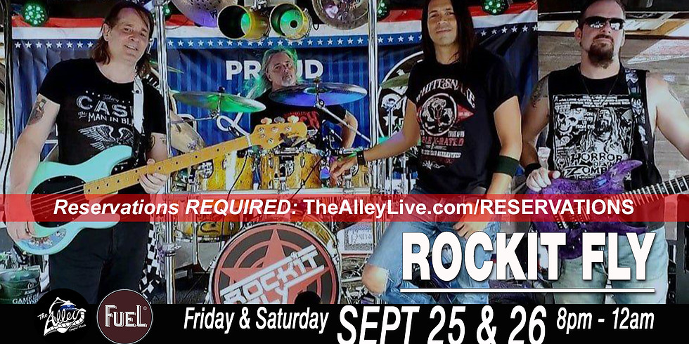 Rockit Fly | Reservations Required The Alley & Fuel BBQ  (1)