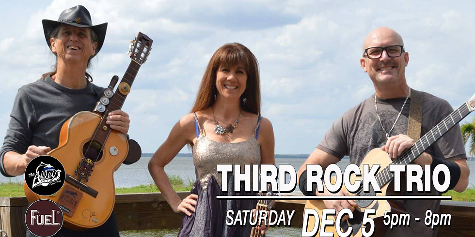 Third Rock Trio on the Fuel BBQ Patio