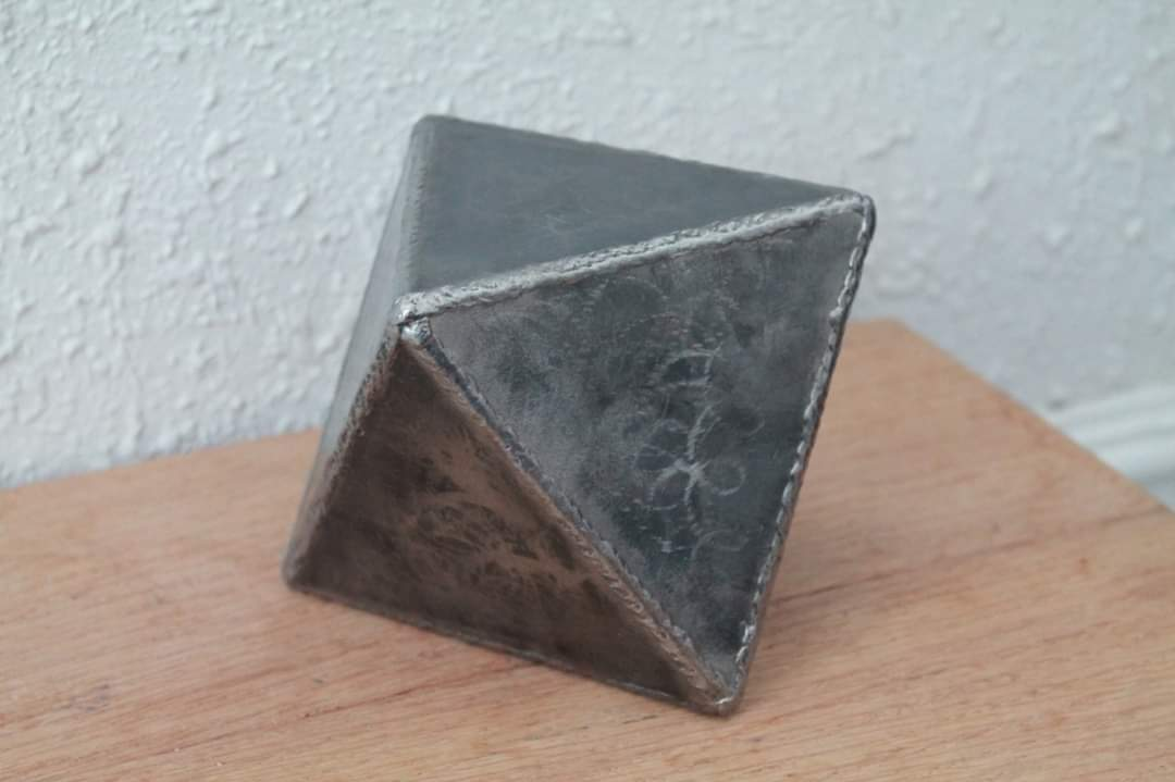 Welded By Bob metal octahedron