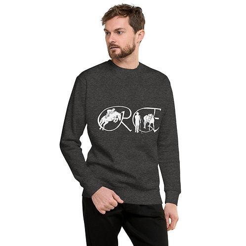The Logo fleece pullover (white)