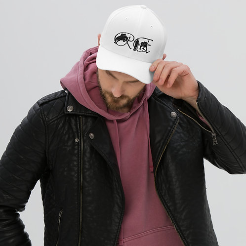 Structured Twill Cap - black logo