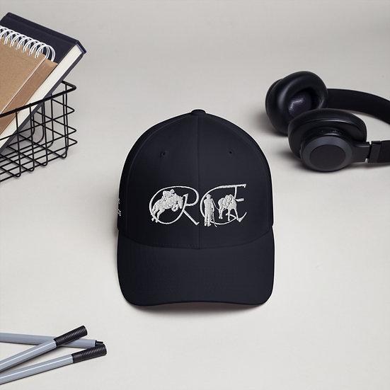 Structured Twill Cap - white logo