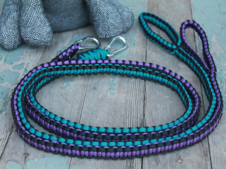 Cobra leashes (custom order inspiration)