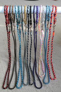 Braided paracord leash & collar sets