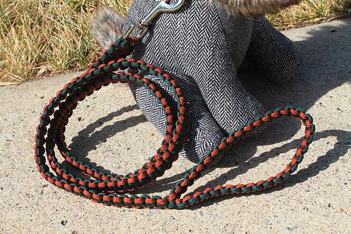 Green & rust cobra leash