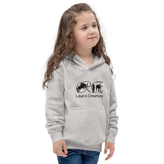 Kids Hoodie - black logo