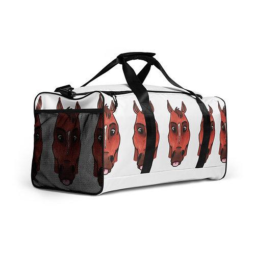 Queen of Groundwork duffel bag