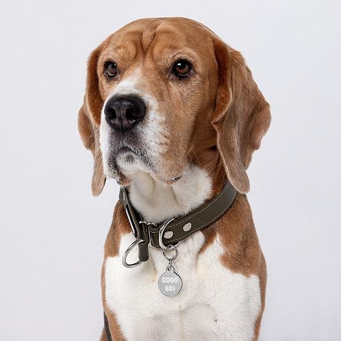 Good boi - pet ID tag