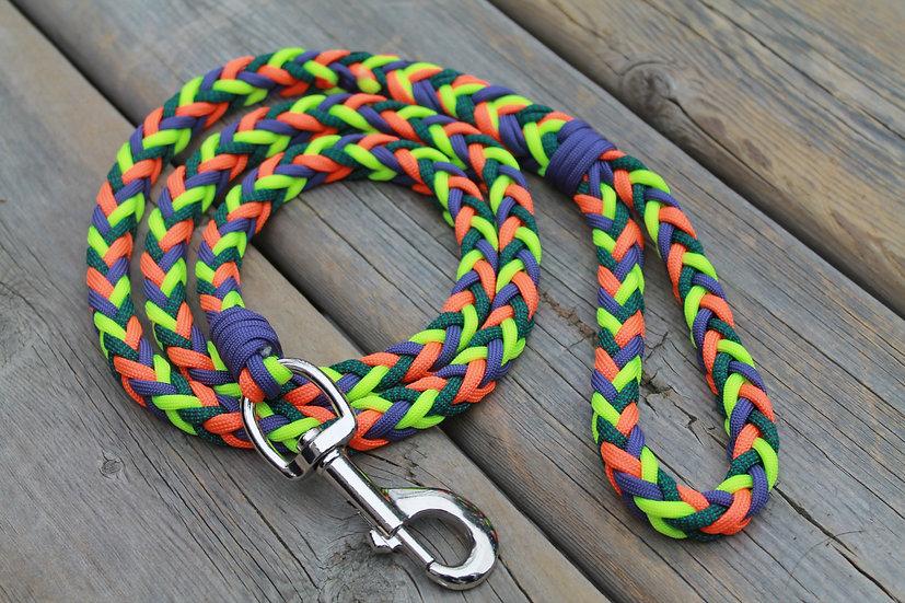 Large paracord dog leash