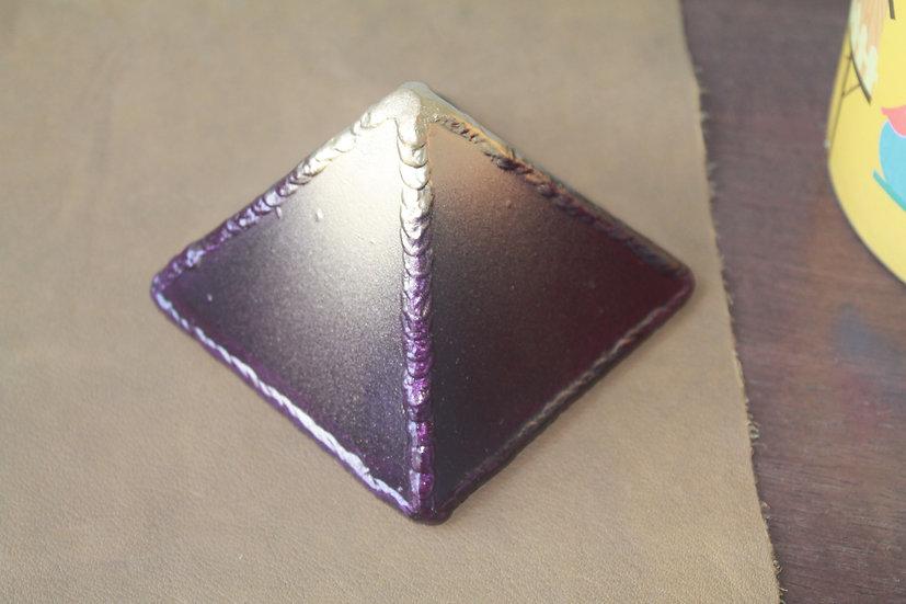 Small metal pyramid