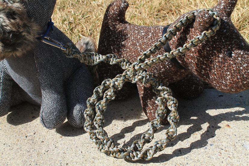 Camo twisted cobra leash