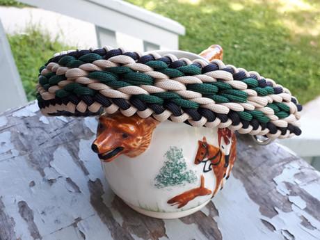 Diamond pattern pet collar (custom order inspiration)