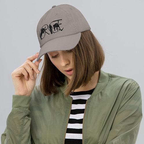 The Logo dad cap (black)