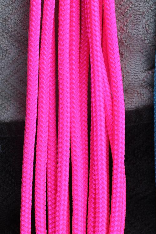 Pink custom rope halter