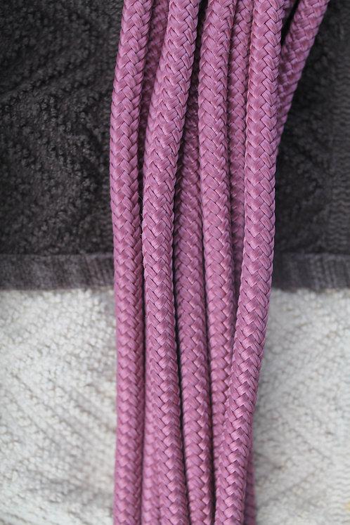 Maroon custom rope halter