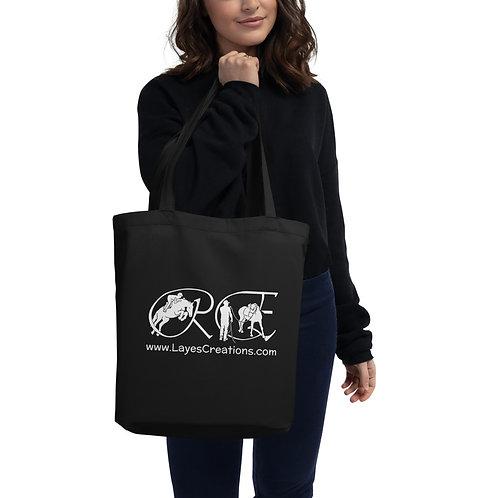 The Logo tote bag (white)