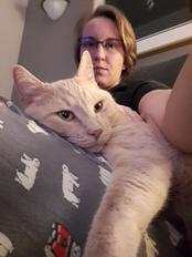 Sarah and cat, Pacho.jpg