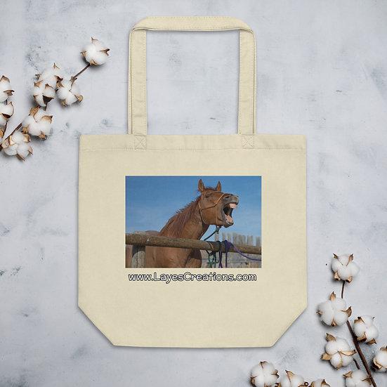 Eco Tote Bag - Quarterhorse Yawn