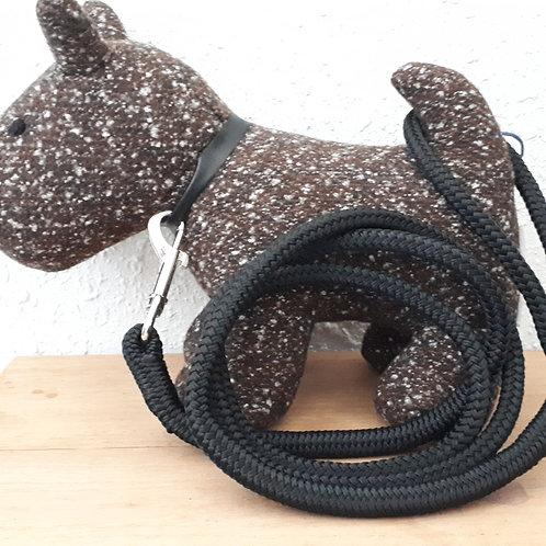 Rope Leash - black