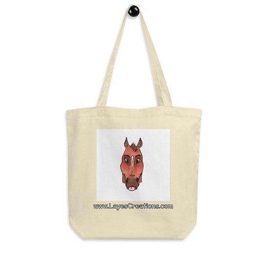 Eco Tote Bag - Portrait of a QH