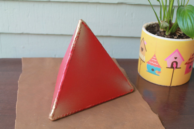Large metal tetrahedron