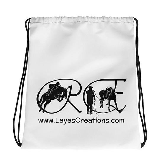 Drawstring bag - black logo