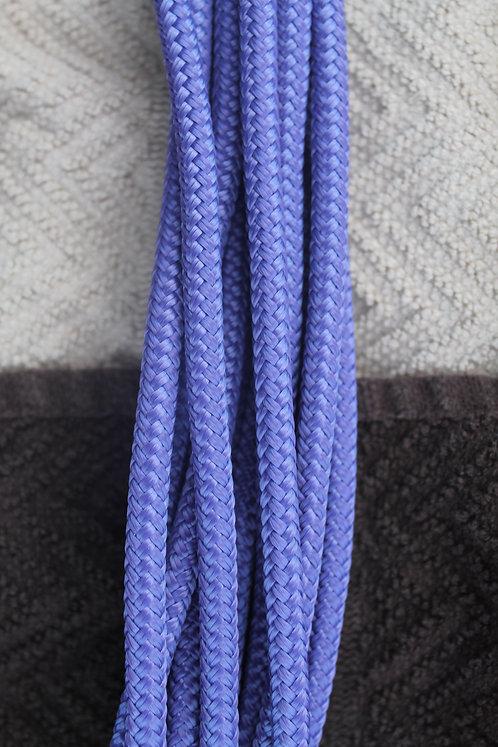 Purple custom rope halter