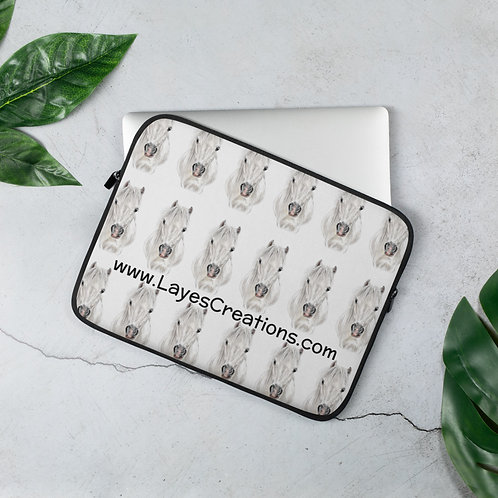 The Welshie laptop sleeve