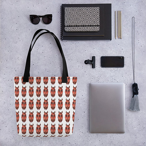 Queen of Groundwork tote bag