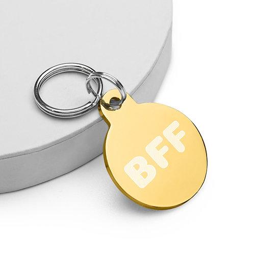 BFF - pet ID tag