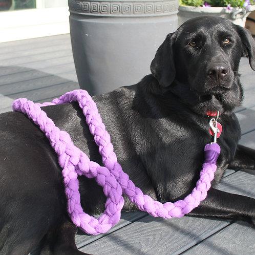 Fleece Leash - purple