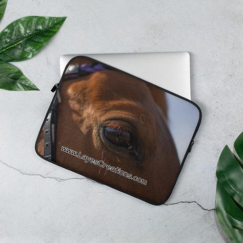 Laptop Sleeve - Trakehner Horse Portrait