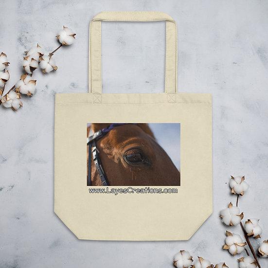 Eco Tote Bag - Trakehner Horse Portrait