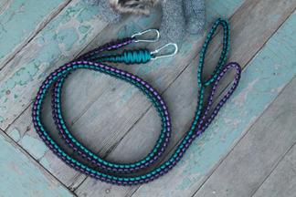 Cobra paracord pet leash