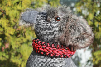 Hand weaved paracord pet collar