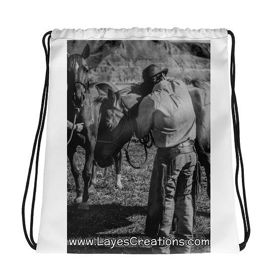 Drawstring bag - Hug Your Horse