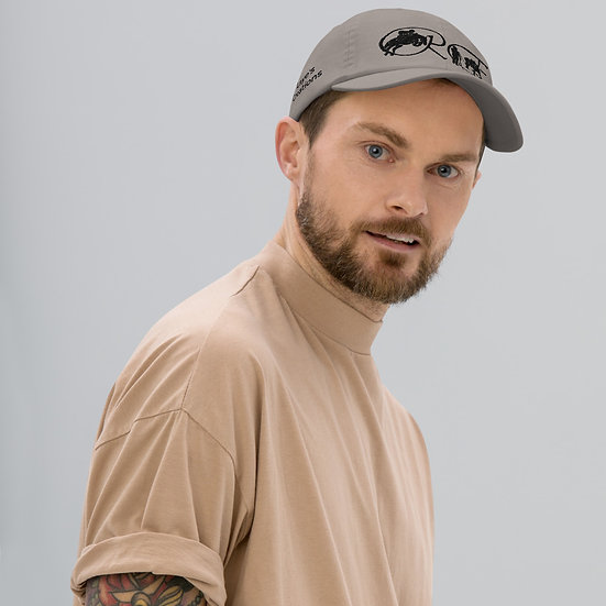 Champion Dad Cap - black logo
