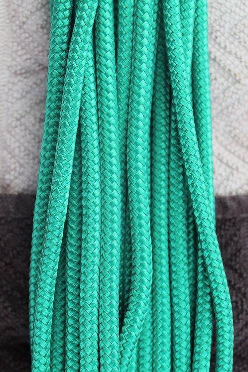 Green custom rope halter