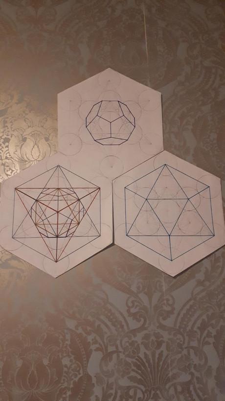 Metatrons cube (sacred geometry)