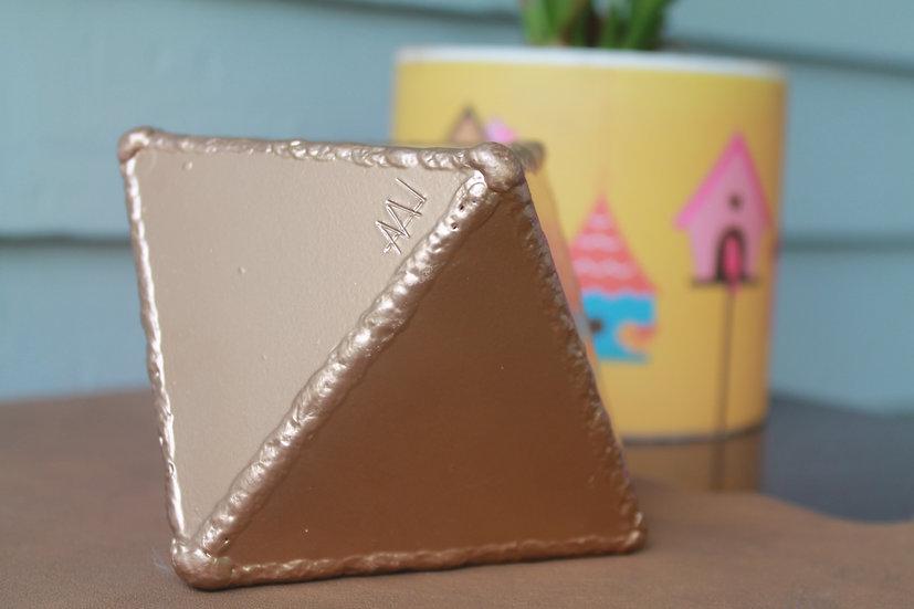 Small metal octahedron