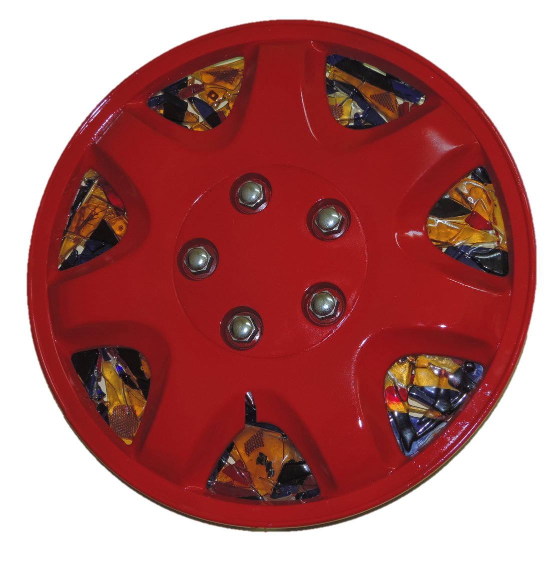 Red Wheel Cover