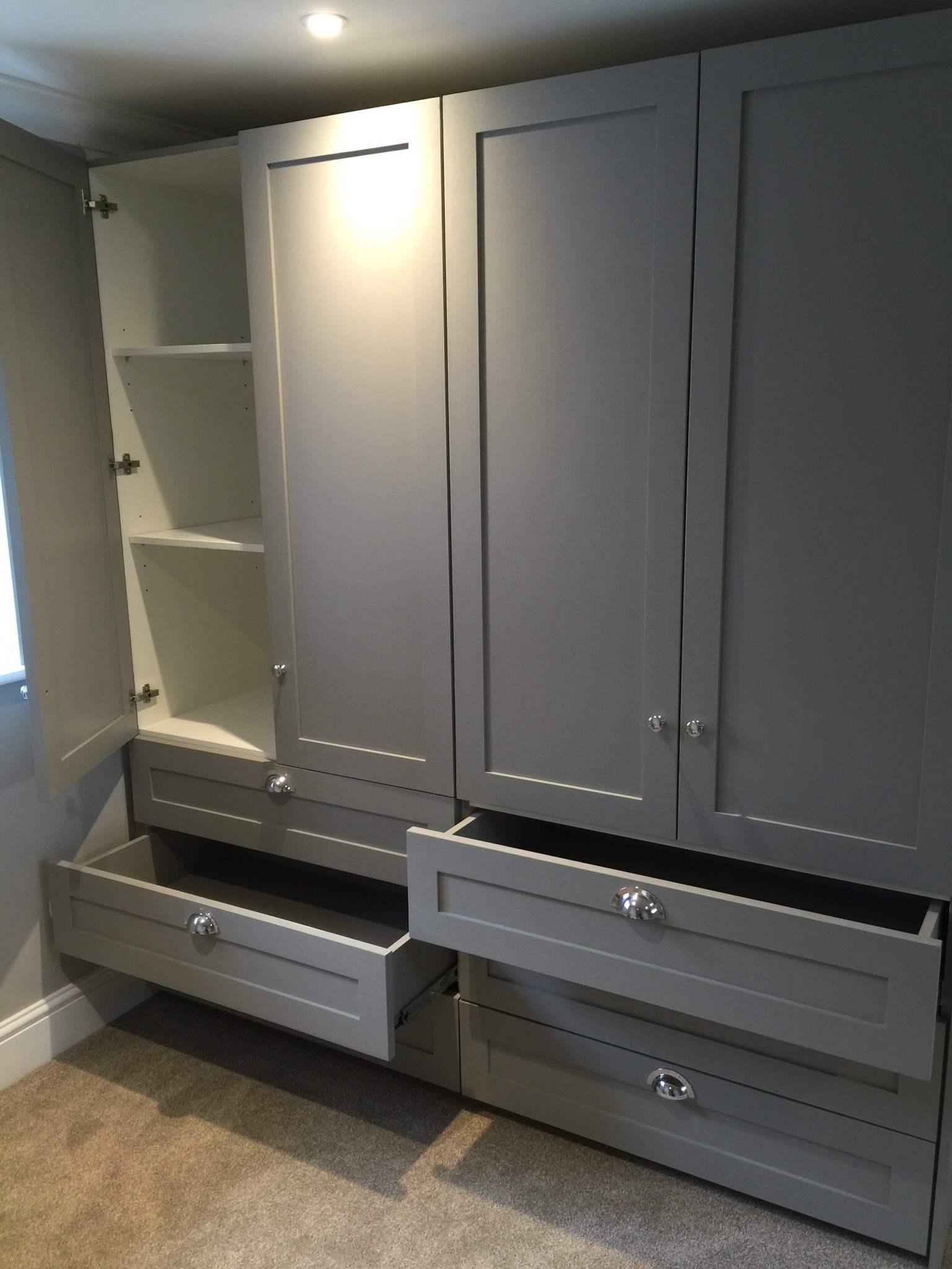 Panel effect wardrobes & drawers