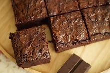 Homemade Dark Chocolate Brownies