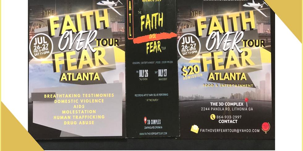 Faith Over Fear Tour