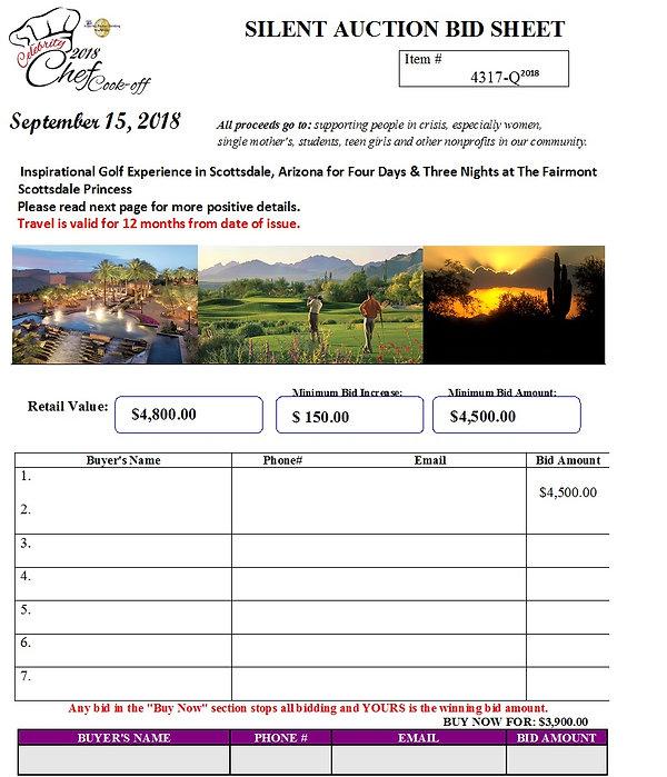 Arizona Golf Tournament ITEM# 4317-Q.jpg